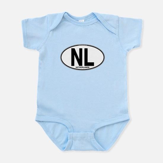 Netherlands Euro Oval (plain) Infant Bodysuit