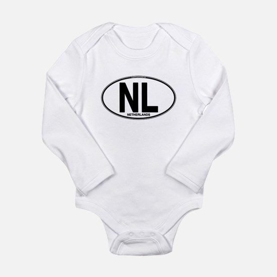Netherlands Euro Oval (plain) Long Sleeve Infant B
