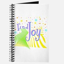 """Find Joy sparkel"" Journal"