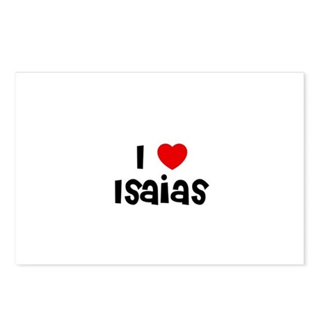 I * Isaias Postcards (Package of 8)