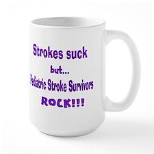 Strokes suck...Survivors rock! Mug
