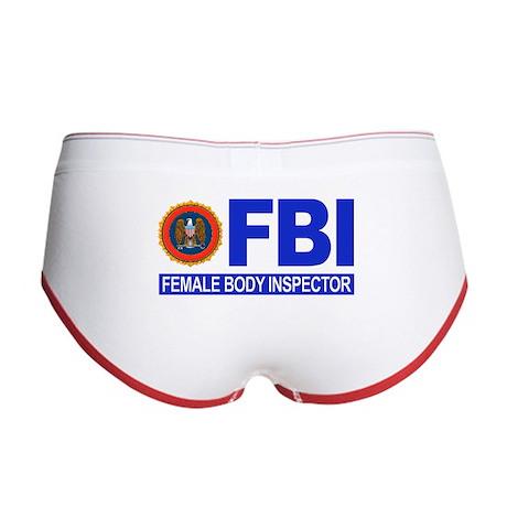 FBI Female Body Inspector Women's Boy Brief
