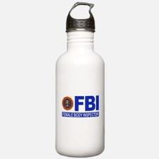 FBI Female Body Inspector Water Bottle