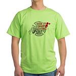 Black Eye Delivery Green T-Shirt