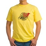 Black Eye Delivery Yellow T-Shirt