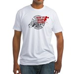 Black Eye Delivery Fitted T-Shirt