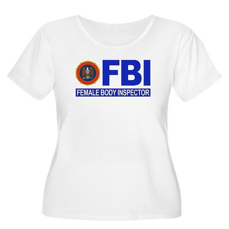 FBI Female Body Inspector Women's Plus Size Scoop