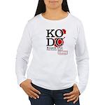 KO Distribution boxing Women's Long Sleeve T-Shirt