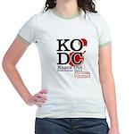 KO Distribution boxing Jr. Ringer T-Shirt