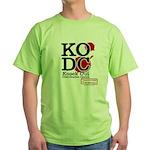 KO Distribution boxing Green T-Shirt