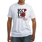 KO Distribution boxing Fitted T-Shirt