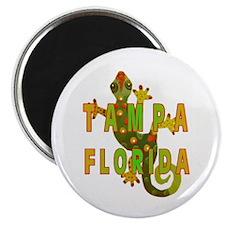 Tampa Florida Lizard Magnet