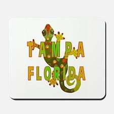 Tampa Florida Lizard Mousepad