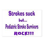 Strokes suck...Survivors rock! Postcards (Package