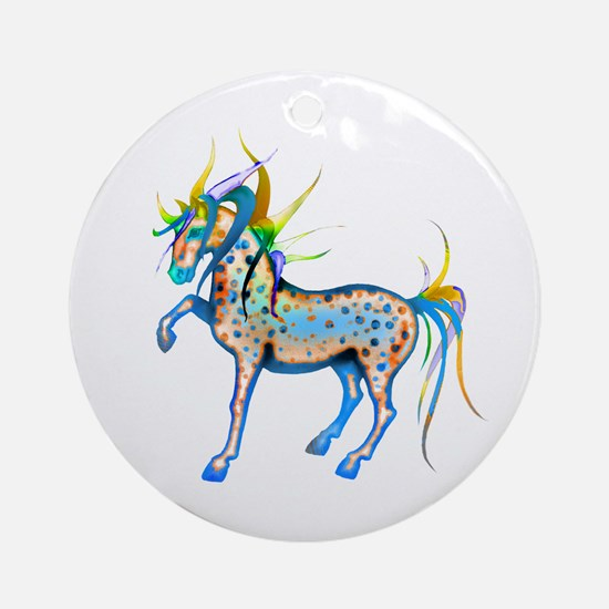 Horses of Color Ornament (Round)