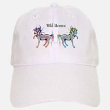 Horses of Color Baseball Baseball Cap