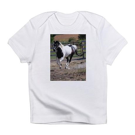 Horse/Pinto Black & White Infant T-Shirt
