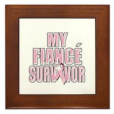 My Fiance is a Survivor Framed Tile