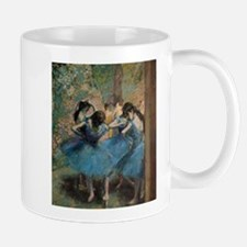 Dancers in blue by Edgar Degas Mugs