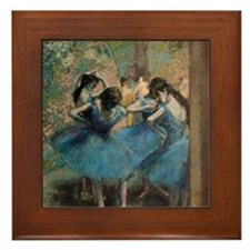 Cool Edgar degas Framed Tile