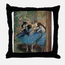 Edgar degas Throw Pillow
