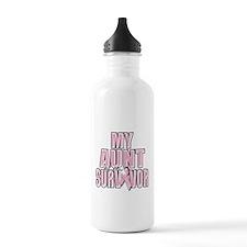 My Aunt is a Survivor Water Bottle