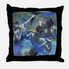 Funny Edgar degas Throw Pillow