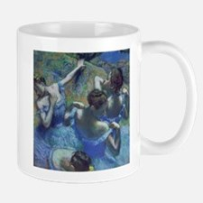 Blue Dancers by Edgar Degas Mugs