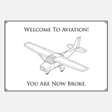 Welcome To Aviation! Banner