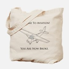 Welcome To Aviation! Tote Bag