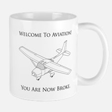 Welcome To Aviation! Mug