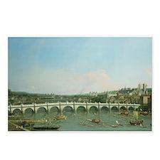 Cute Westminster bridge Postcards (Package of 8)