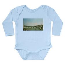 Cute Westminster bridge Long Sleeve Infant Bodysuit