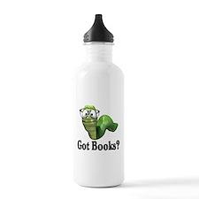 Got Books? Water Bottle
