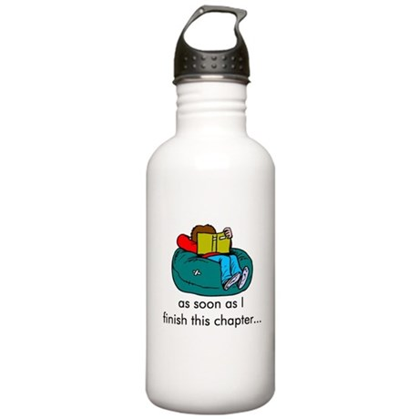 Reading Stainless Water Bottle 1.0L