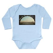 Unique Westminster bridge Long Sleeve Infant Bodysuit