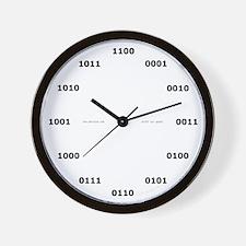 Binary Clock Wall Clock