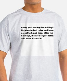 Holiday Cocktail T-Shirt