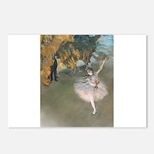 Unique Ballet bears Postcards (Package of 8)