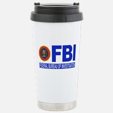 FBI Federal Bureau of Investigation Stainless Stee