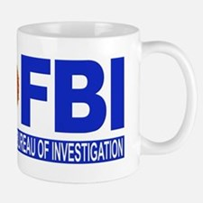 FBI Federal Bureau of Investigation Small Mugs