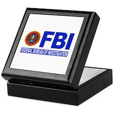 FBI Federal Bureau of Investigation Keepsake Box
