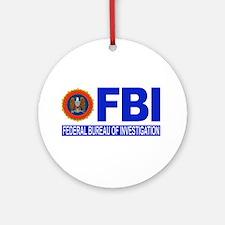 FBI Federal Bureau of Investigation Ornament (Roun