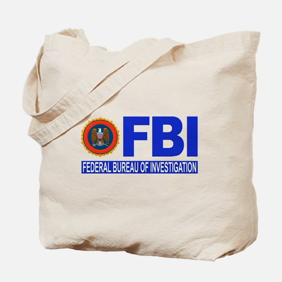 FBI Federal Bureau of Investigation Tote Bag