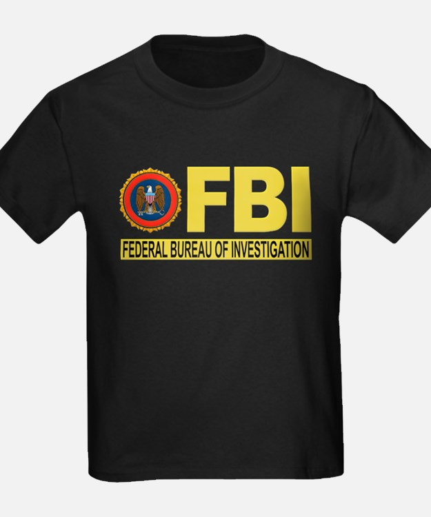 fbi t shirts cafepress. Black Bedroom Furniture Sets. Home Design Ideas
