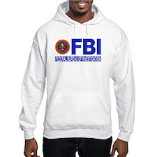 FBI Federal Bureau of Investigation Hoodie Sweatshirt