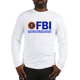 Fbi Long Sleeve T-shirts