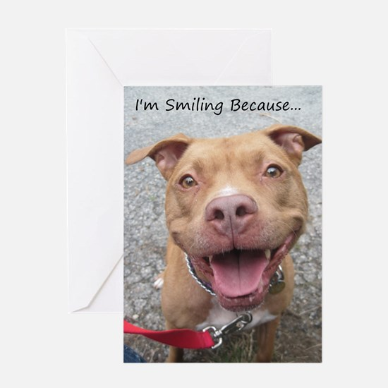 Bailey Smiley-Card Greeting Cards