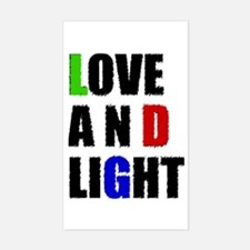 Love and Light Decal