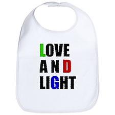 Love and Light Bib